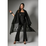 NIGHT FEVER PONCHO