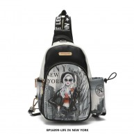 BP16099 LIFE IN NEW YORK BACKPACK