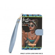 HP6617 UNIVERSAL PHONE CASE LATOYA LOVES WHO SHE IS