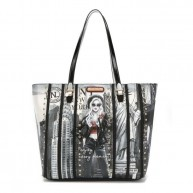 LNY16054  LIFE IN NEW YORK CHIC TOTE BAG